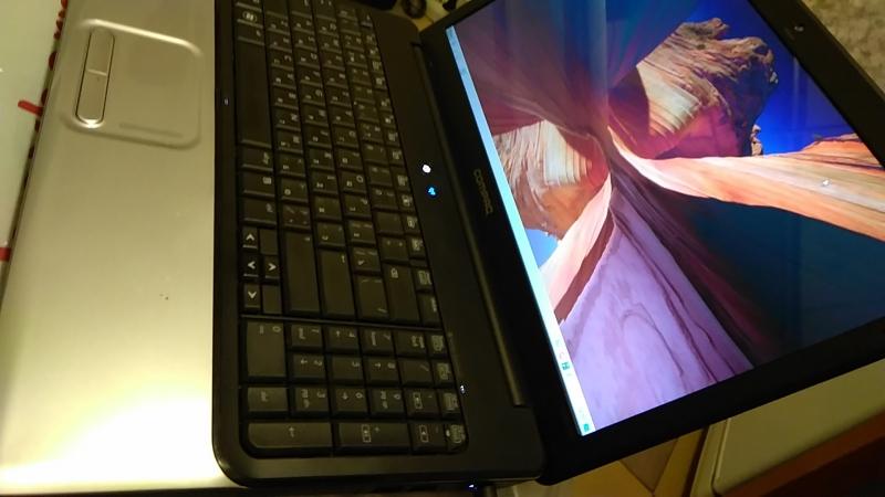 Ноутбук HP CQ61 2 ядра 2 Ghz 2 Gb 150 hdd 15,6 dvd cr wi-fi camera  Хо